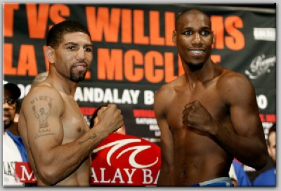 WrightWilliamsWeighIn3 Boxing Preview: Winky Wright vs. Paul Williams