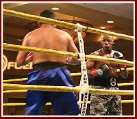 ballroom boxing2 Ringside Boxing Report: Cleotis Pendarvis   Ricardo Galindo