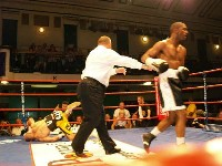 boxing york halls4 Ringside Boxing Report: Ted Bami   Guiseppe Lauri