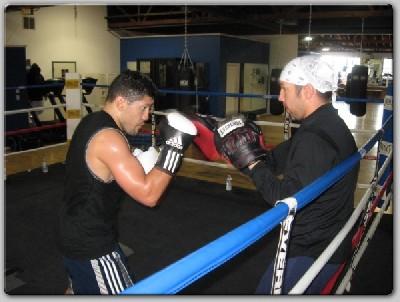 daviddiazjabb1 8 Count Boxing: David Diaz Training Hard For Chavez Clash