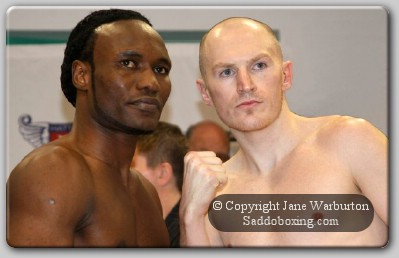 faceoff3 Boxing Weigh In: Lovemore Ndou vs. Matthew Hatton