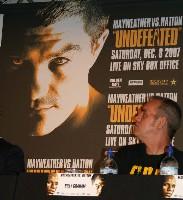 floyd hatton london12 Boxing Press Conference: Ricky Hatton vs. Floyd Mayweather in London