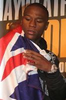 floyd hatton london3 Boxing Press Conference: Ricky Hatton vs. Floyd Mayweather in London