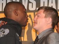 floyd hatton london9 Boxing Press Conference: Ricky Hatton vs. Floyd Mayweather in London