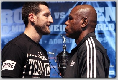 froch johnson1 Froch, Johnson Meet In New York Before Super Six Clash