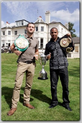 froch ward final1 London Press Tour: Andre Ward & Carl Froch