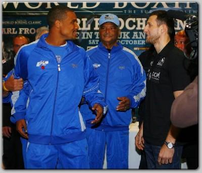 froch dirrell head2head21 Showtime Boxing: Froch, Dirrell Head To Head In Nottingham