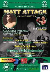 full size wigan1 Boxing Preview: Alex Matvienko vs. Lee Edwards