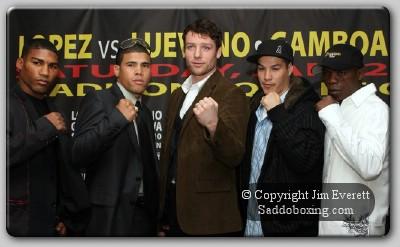 gamboa lopez presser0021 Boxing Press Conference: Lopez vs. Luevano – Gamboa vs. Mtagwa