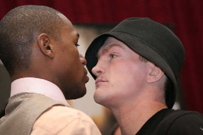 Floyd Mayweather   Ricky Hatton: Vegas Boxing Press Conference Photos and Hatton Audio Interview