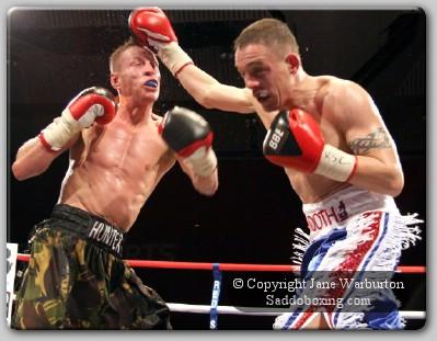 hunterbooth1 Boxing Result: Jason Booth vs. Michael Hunter