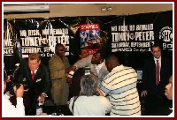 Boxing Press Conference: James Toney   Samuel Peter