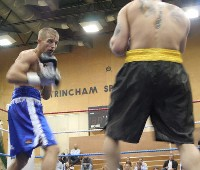 johnsongwilym Ringside Boxing Report: Michael Gomez   Daniel Thorpe