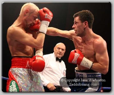 maccabarker21 Ringside Boxing Report: Darren Barker vs. Darren McDermott