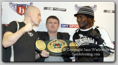 mattricklovemore41 Boxing Press Conference: Matthew Hatton Vs Lovemore N'Dou