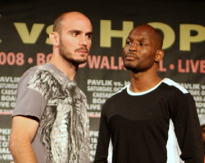 pavlik hopkins1 Final NY Boxing Press Conference: Pavlik v Hopkins