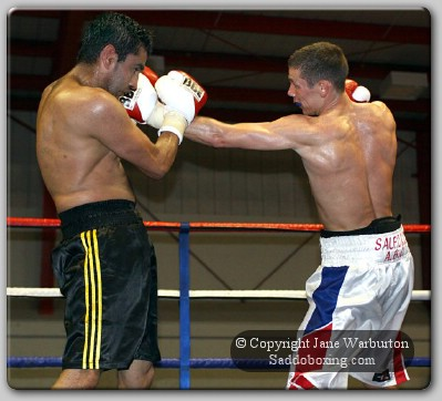razak1 Ringside Boxing Report: Lee Gillespie vs. Sid Razak