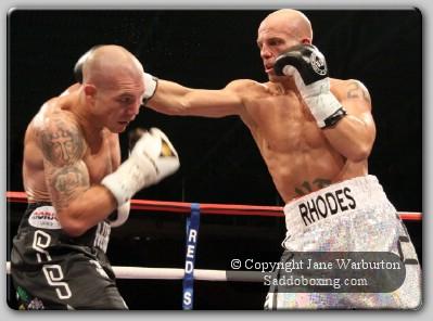 rhodesmoore1 Ringside Boxing Report: Jamie Moore Vs. Ryan Rhodes