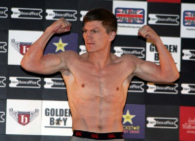 Boxing Weigh in Results and Photos: Ricky Hatton Vs Juan Lazcano + Undercard