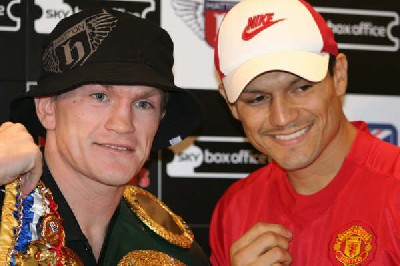 "Boxing Press Conference: ""Homecoming"" Hatton v Lazcano"