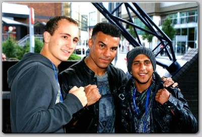 robbin1 Boxing In Wales: The WBC Night Of Champions