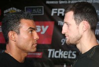 robinreid carlfroch1 Boxing Press Conference Audio: Carl Froch   Robin Reid