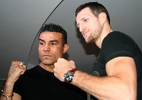 robinreid carlfroch2 Boxing Press Conference Audio: Carl Froch   Robin Reid