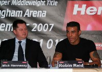 robinreid carlfroch4 Boxing Press Conference Audio: Carl Froch   Robin Reid