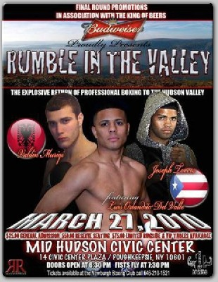 "rumbleinthevally1 Exclusive Boxing Interview: Luis ""Orlandito"" Del Valle"