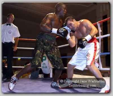 staffordrasani1 Ringside Boxing Report: Mike Stafford Vs. Hastings Rasani