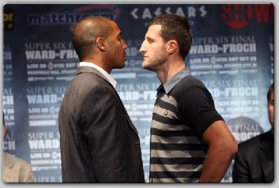 wardfroch1 Ward, Froch Go Head To Head For Super Six Finale In New York