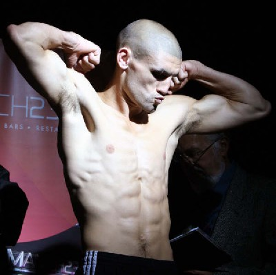 Boxing Weigh In: Lee Meager vs. John Murray