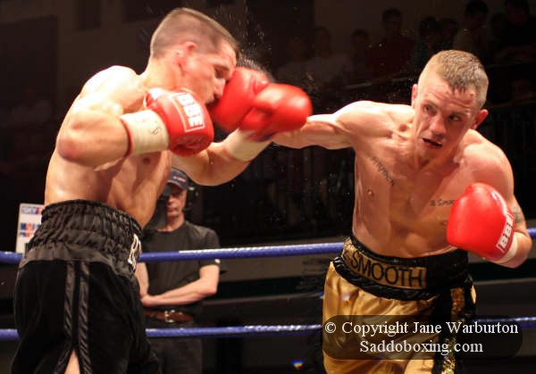 Rocky Dean Ringside Boxing Report Jason Booth vs Rocky Dean