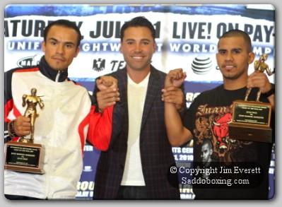 diaz marquez presser0051 Las Vegas Boxing Press Conference: Marquez v Diaz II