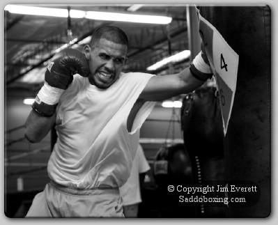 diaz trainingcamp1 Exclusive Boxing Interview: Juan Diaz