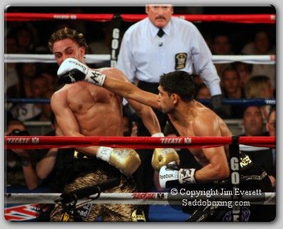 everett khan malignaggi 0101 Ringside Report: Khan vs Malignaggi