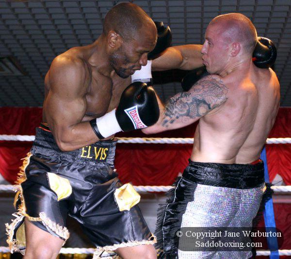 Ringside Boxing Report: Matt Hainy Vs. Elvis Dube