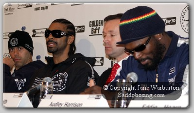 harrison haye1 Press Conference Audio: David Haye Vs Audley Harrison