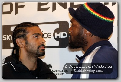 harrison haye faceoff1 Boxing Perspective: Can Audley Dethrone Haye For WBA Title?
