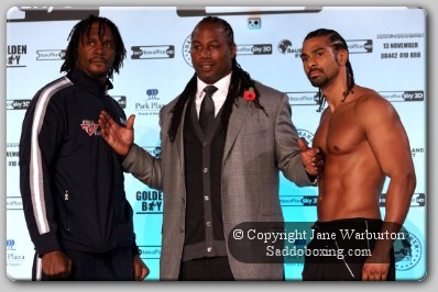 haye harrison Lewis1 Boxing Weights: David Haye vs. Audley Harrison