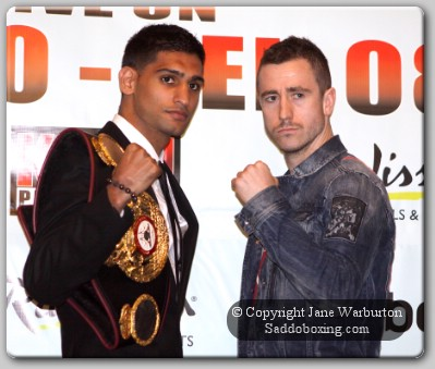 khan and paul1 copy1 Boxing Perspective: Can McCloskey Derail The Khan Express?