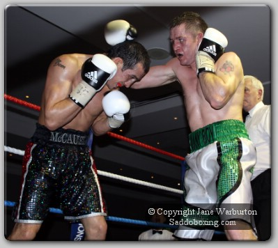 mccauley1 Ringside Boxing Report: Kevin McCauley vs. Sean McKervey
