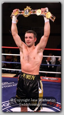 purdy belt1 Ringside Boxing: Lee Purdy Vs Craig Watson