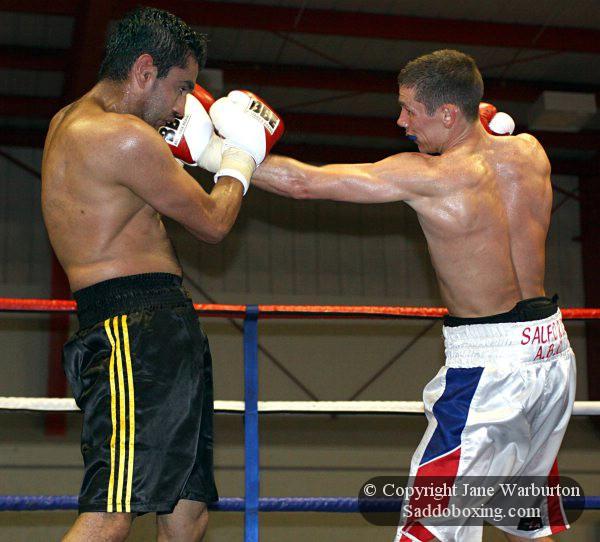 Ringside Boxing Report: Lee Gillespie Vs. Sid Razak
