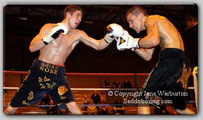 rose noble1 Ringside Boxing Report: Brian Rose vs. Lee Noble
