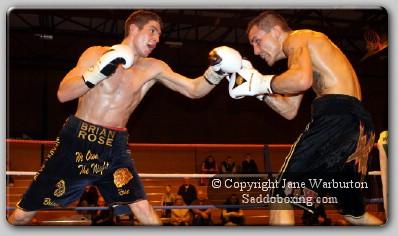 rose noble1 Ringside Boxing Report: Brian Rose vs. Lee Noble