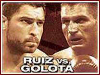 ruiz golota Ruiz Escapes With Title.