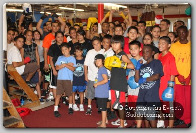 savannah boxing club1 Boxing Perspective: Willie Savannah   Making A Difference For The Youth Of Houston