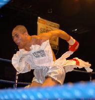 thumb David Barnes celebrates his victory over James Hare4 Boxing Photos: Barnes vs Hare and Undercard