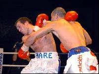 thumb David Barnes lands a ko punch on James Hare6 Boxing Photos: Barnes vs Hare and Undercard